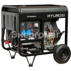 Дизель-электростанция HYUNDAI DHY 8000LE-3