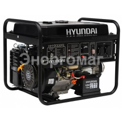 Бензогенератор HYUNDAI HHY 5000FE, 4 квт, стартер