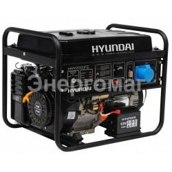 Бензогенератор для дома HYUNDAI HHY 9000FE,мощность 6 кВт