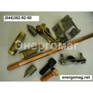 Комплект  заземления для частного дома КЗМ-5 покрытие медь