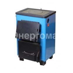 Котел дровяной  Огонек КОТВ-10П 10 кВт с плитой или варочной поверхностью