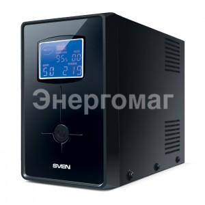 ИБП Sven Pro+1500 для системного блока и монитора