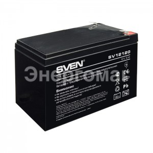 Аккумуляторная батарея  Sven   SV 12120    для бесперебойника
