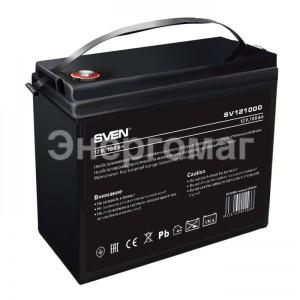 Аккумуляторная батарея  Sven  SV121000,100 Ач,12В