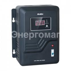 Стабилизатор напряжения SVEN AVR PRO LCD 5000
